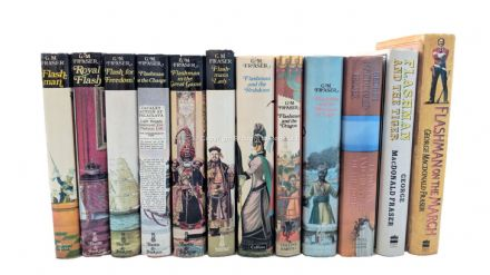 Flashman Complete Set of Novels Signed George MacDonald Fraser Herbert Jenkins 1969 to 2005